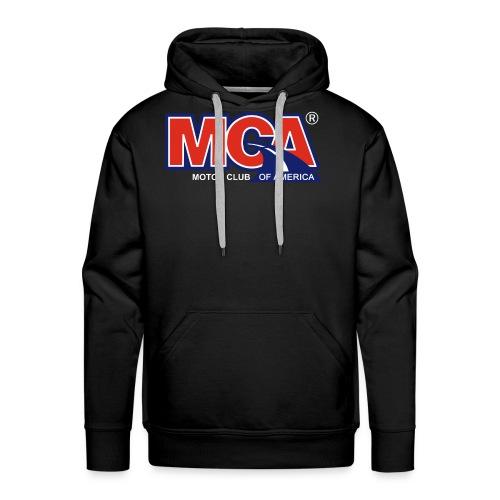 MCA Logo Transparent - Men's Premium Hoodie