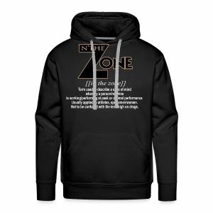 in the zone definition 3 - Men's Premium Hoodie