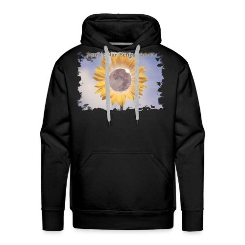 Total Sunflower Eclipse Design 2 - Men's Premium Hoodie