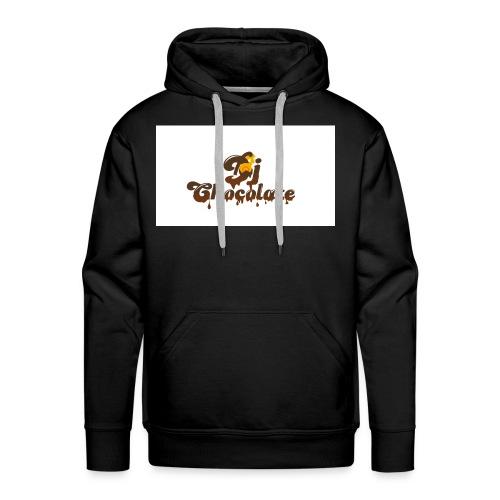 dj chocolate - Men's Premium Hoodie