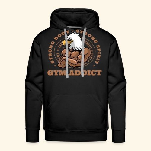 Strong Mind Strong Body - Men's Premium Hoodie