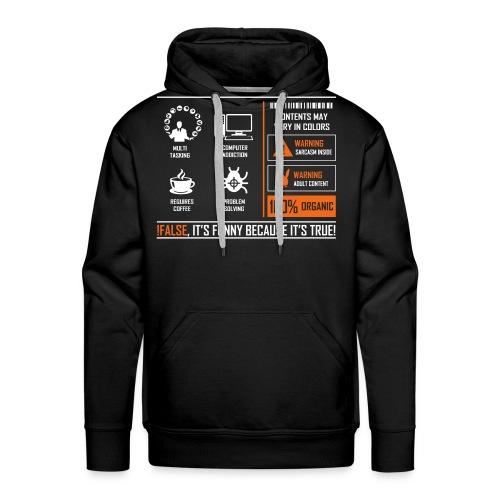 Programmer - Men's Premium Hoodie