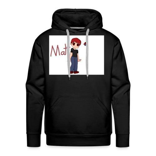 REDPLAYZ HOODIE BLACK - Men's Premium Hoodie
