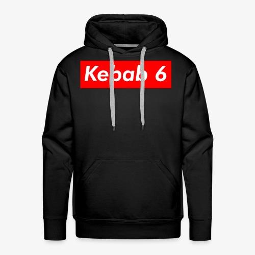 Kebab 6 box logo - Men's Premium Hoodie