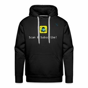 Scan & Subscribe - Men's Premium Hoodie