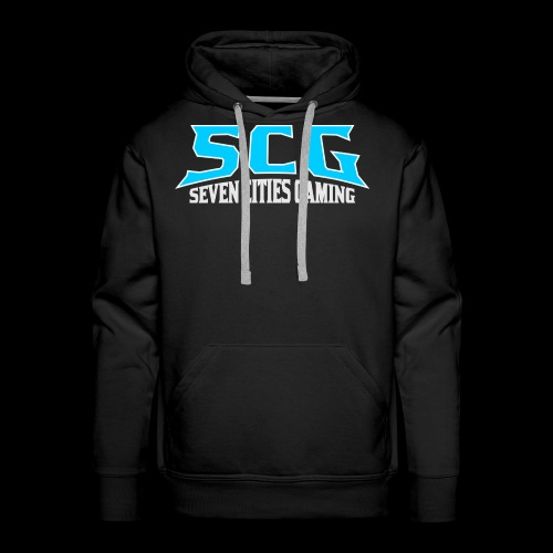 SCG TEXT LOGO - Men's Premium Hoodie