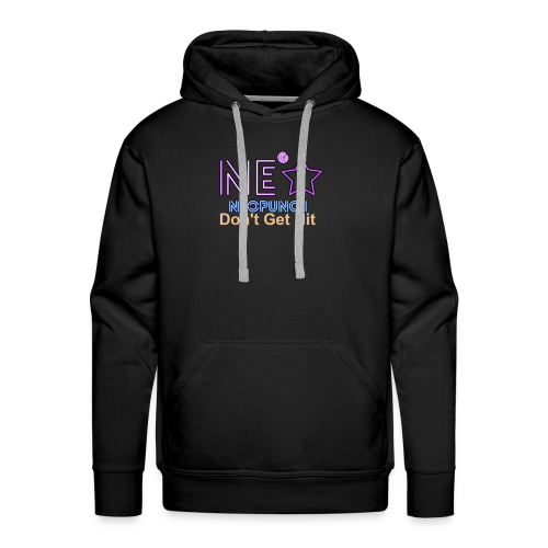 Neopunch Don't Get Hit - Men's Premium Hoodie