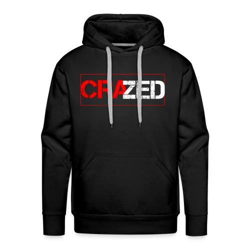 Crazed Logo - Men's Premium Hoodie