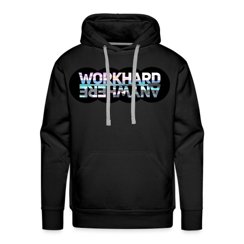 Work Hard Anywhere - Men's Premium Hoodie