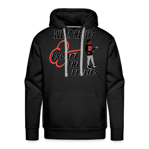 HEELYS FOR YA FEELIES - Men's Premium Hoodie