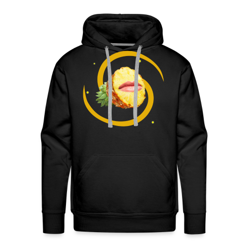 Pineapple Face (FruityPunch game) - Men's Premium Hoodie