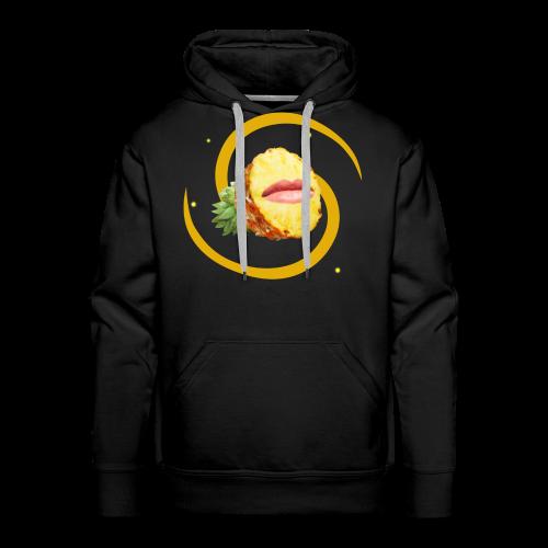 Pineapple Face (FruityPunch game) - Men's Premium Hoodie