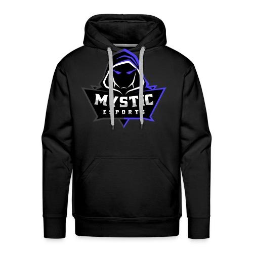 Mystic eSports Logo Purple - Men's Premium Hoodie