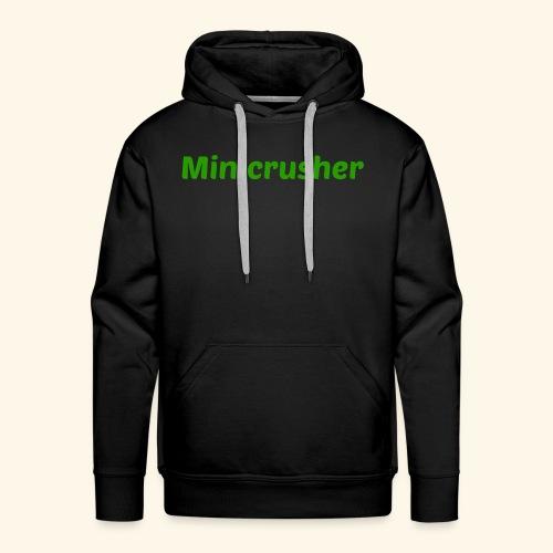 Minicrusher design - Men's Premium Hoodie