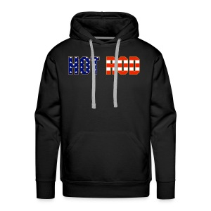 Hot Rod in Red and Blue - Men's Premium Hoodie