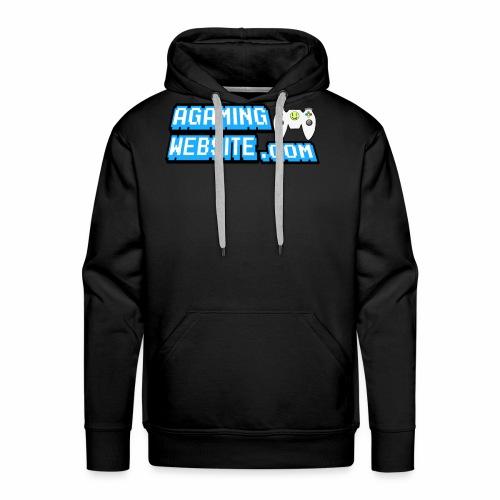 AGamingWebsite.com Logo Design - Men's Premium Hoodie