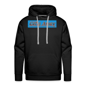 Gifts Away T-dye Logo - Men's Premium Hoodie