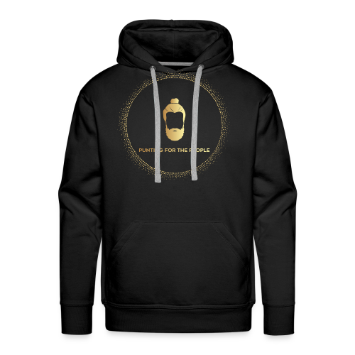 Punting For The People Print - Men's Premium Hoodie
