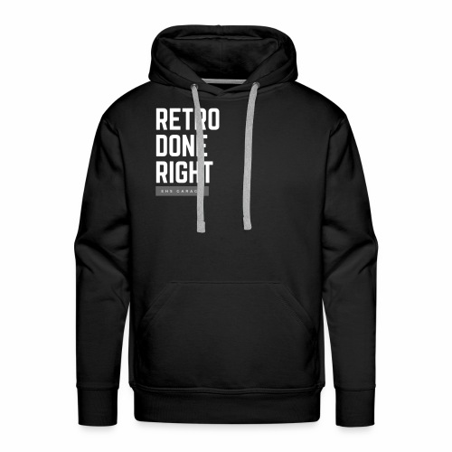 Retro Done Right - Men's Premium Hoodie