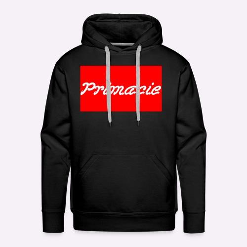 Primacie Block w/Red & White - Men's Premium Hoodie