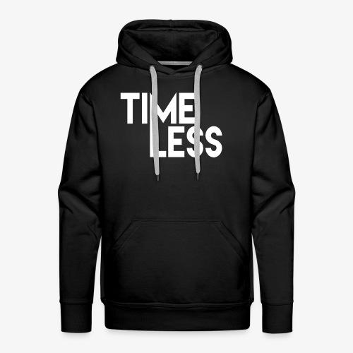 Time Less YouTube Logo - Men's Premium Hoodie