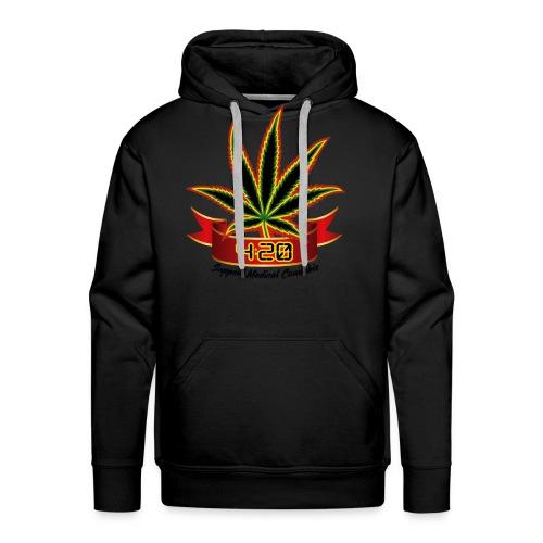 support_medical_cannabis_420 - Men's Premium Hoodie