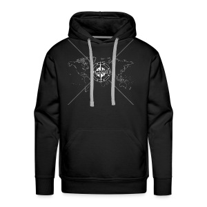 Black Swell Original White - Men's Premium Hoodie