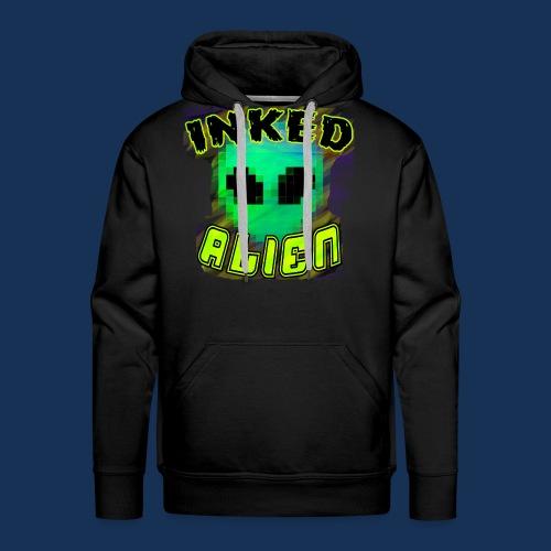 Inked Alien Logo Shirt #1 - Men's Premium Hoodie