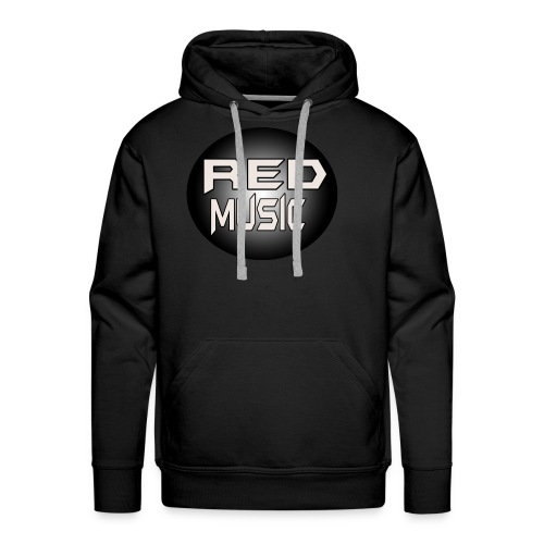 Red Music Logo 2017 - Men's Premium Hoodie