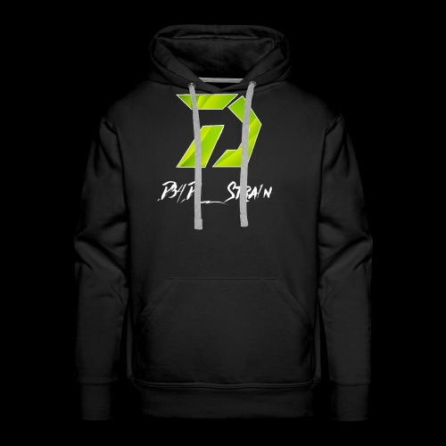 D34D_Stra1n Logo - Men's Premium Hoodie