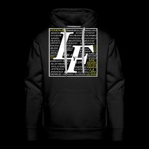 LIRICA Y FLOW logo oficial - Men's Premium Hoodie