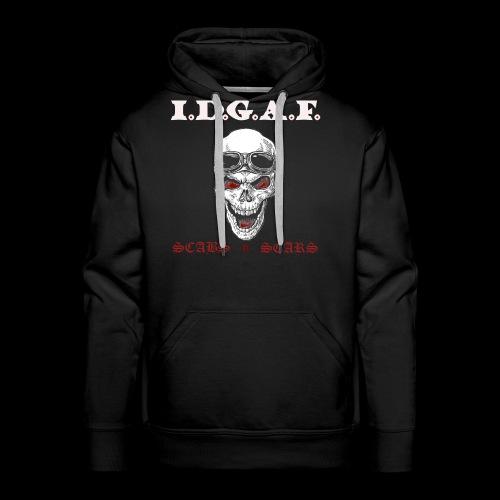 IDGAF - Men's Premium Hoodie
