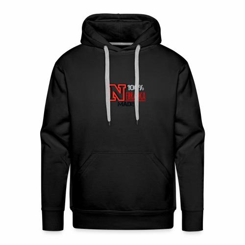 100% Nebraska Made Collection - Men's Premium Hoodie