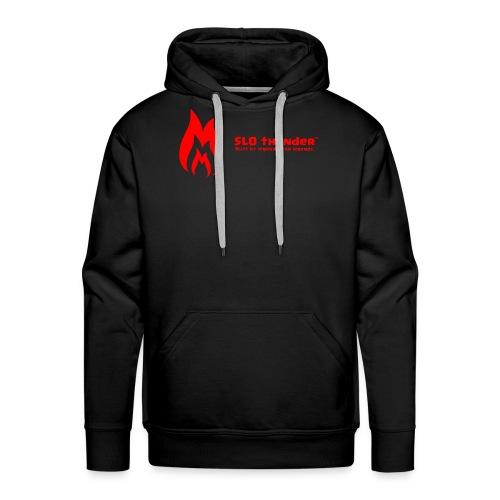 SLO thunder official logo - Men's Premium Hoodie