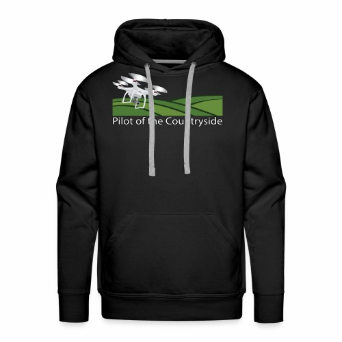 Pilot of the Countryside - Men's Premium Hoodie