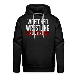 Wretched Wrestling Dark Shirt - Men's Premium Hoodie
