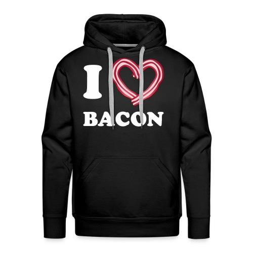 I L Bacon - Men's Premium Hoodie