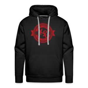 Determination Red2 - Men's Premium Hoodie