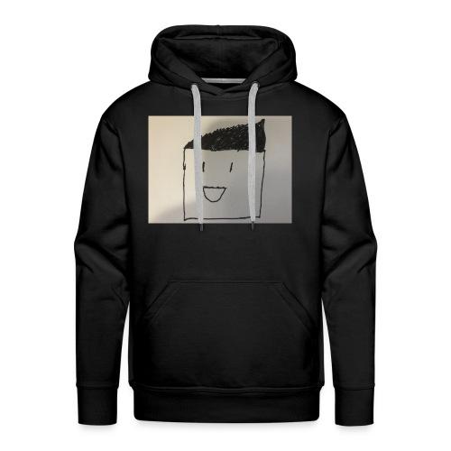 Guy with random stuff - Men's Premium Hoodie