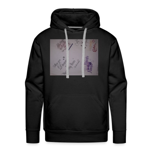 Words of courage - Men's Premium Hoodie