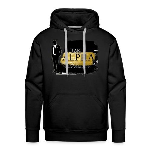 Alpha shirt - Men's Premium Hoodie