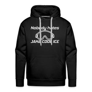 Jake Cool Ice [White] - Men's Premium Hoodie