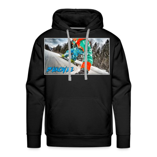 Bukovel Snowboarding - Men's Premium Hoodie