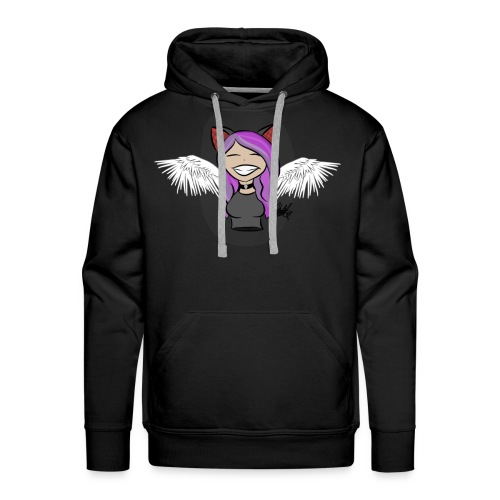 Cat girl chibi - Men's Premium Hoodie
