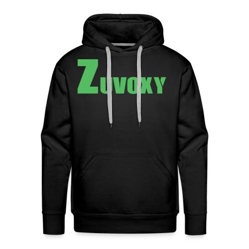 Zuvoxy Logo - Men's Premium Hoodie