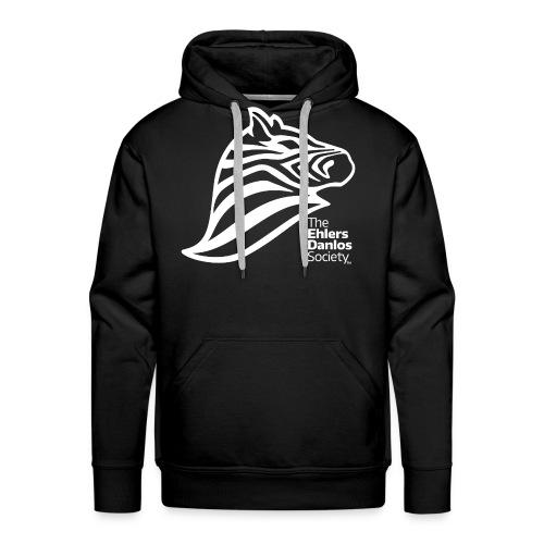 Ehlers-Danlos Society - Official Logo - Reverse - Men's Premium Hoodie