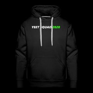 YEET SQUAD (WHITE) - Men's Premium Hoodie