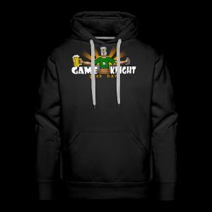 Game Knight Geek Bar Logo - Men's Premium Hoodie