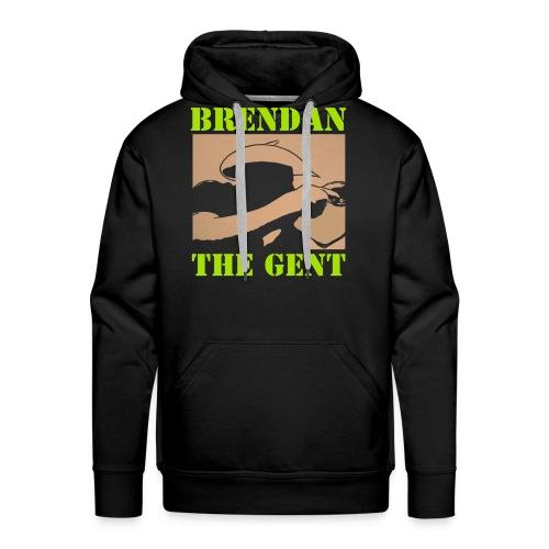 Brendan The Gent logo - Men's Premium Hoodie