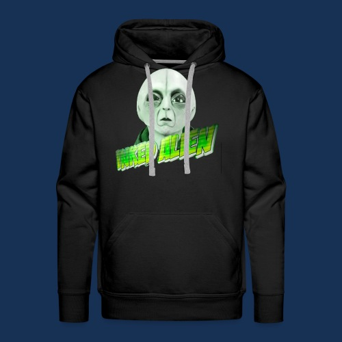 Inked Alien Logo #2 - Men's Premium Hoodie